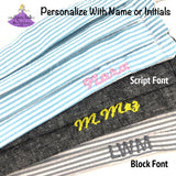 Personalization options for personalized fabric face mask
