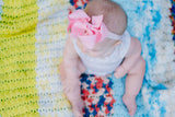 Lace Baby Headband Bow
