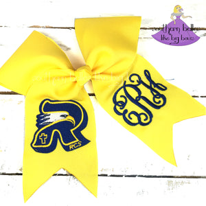 Resurrection Catholic School Cheer Bow