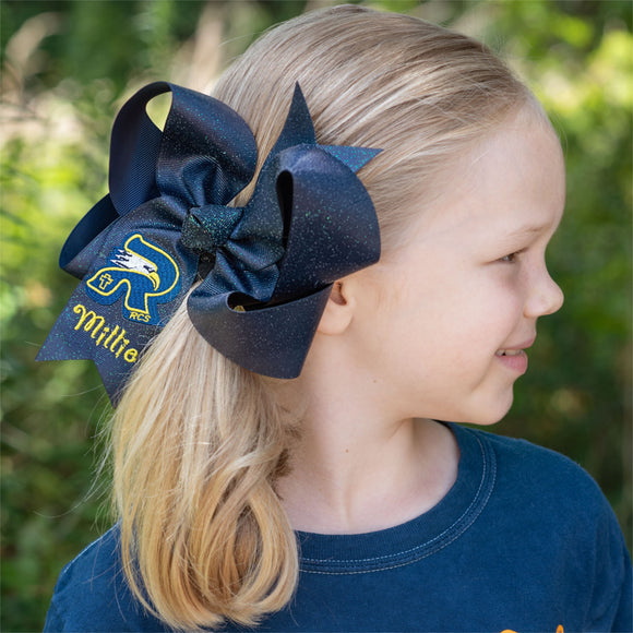 RCS Glitter Bow - Large