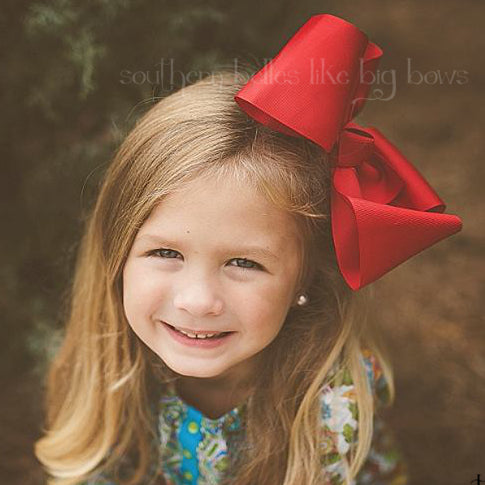 Jumbo Red Boutique Bow