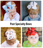 Boutique Bow Baby Headband Subscription Bow Box Gift Set Speciality Embroidery Hair Bows