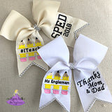 SPED graduation bow for teacher