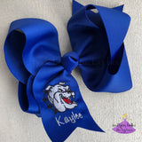 Jumbo Royal Blue Vancleave Bow