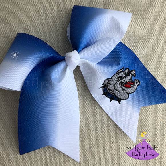 Vancleave Glitter Cheer Bow