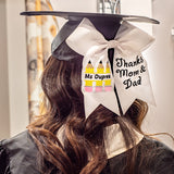 Teacher Graduation Cap Bow