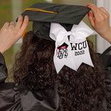 Custom Grad Cap Hair Bow for Grad Cap Decoration