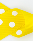 St. Martin Yellow Jacket Polka Dot Bow