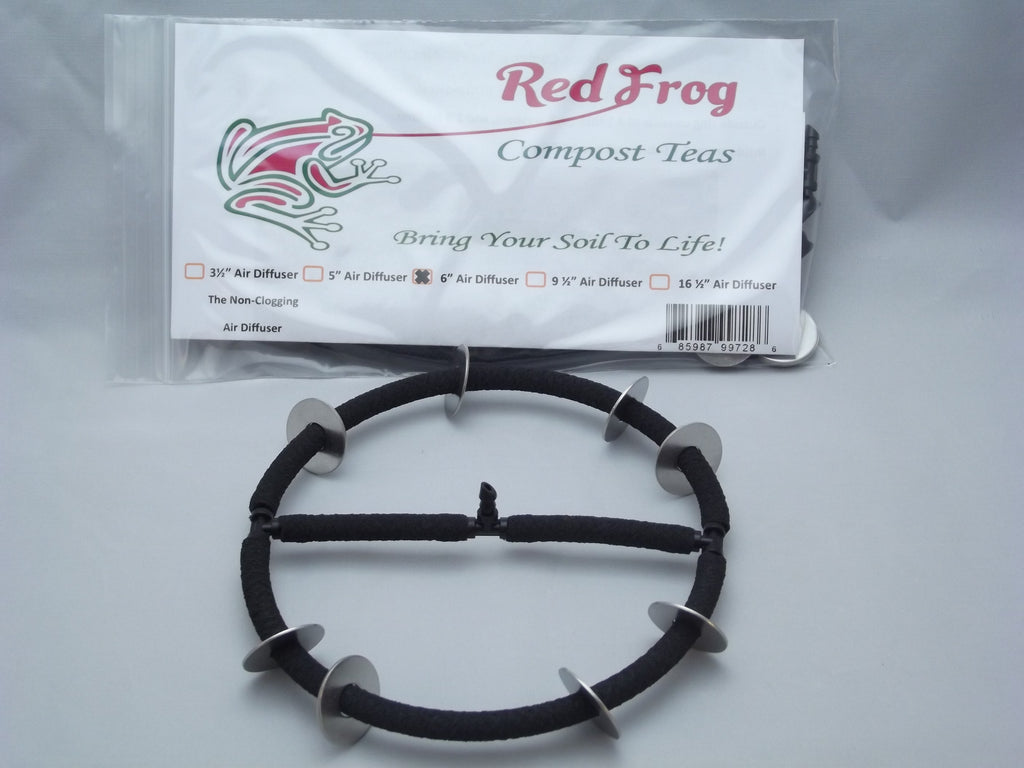 "1 Red Frog 6"" Aerator/Air Stone/Air Diffuser"