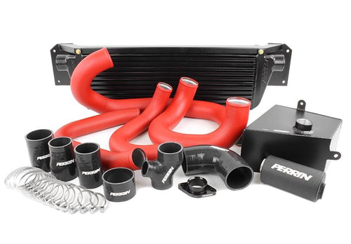 Perrin  2015+ WRX FMIC Boost Tube Box w/ Red Boost Tubes and Black Couplers