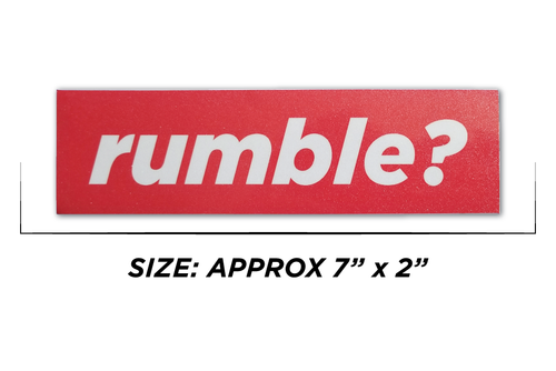 Rumble? Minimal Slap