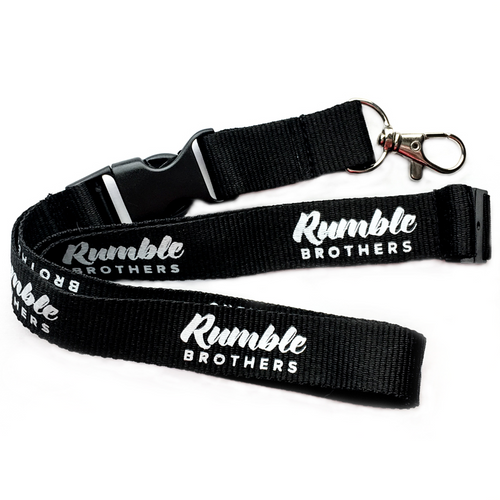 Rumble Brothers Lanyard