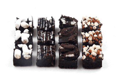 Mini Assorted Brownies - World of Chantilly