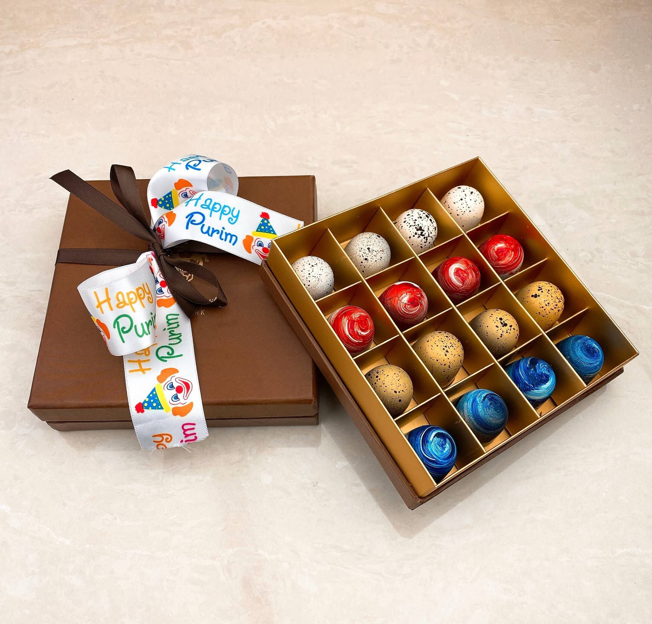 Chocolate Bonbon Gift Box - World of Chantilly