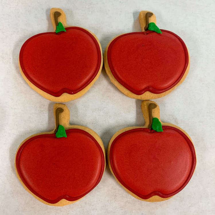 Apple Cookies - World of Chantilly