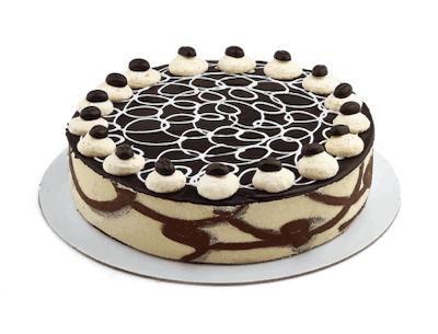 "10"" Cappuccino Cake - World of Chantilly"