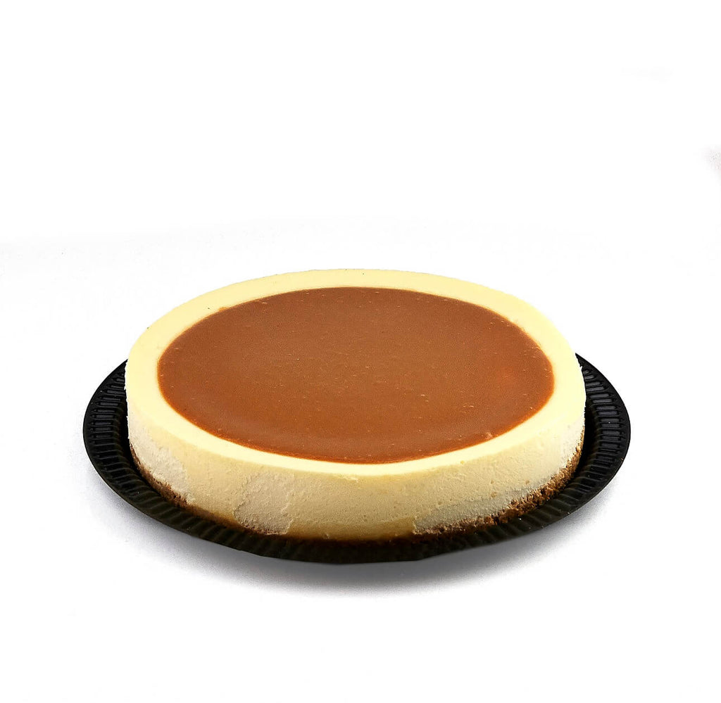 Cholov Yisroel Dairy Caramel Cheesecake - World of Chantilly