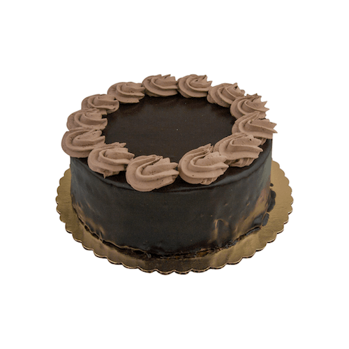"8"" Chocolate Mousse Cake - World of Chantilly"