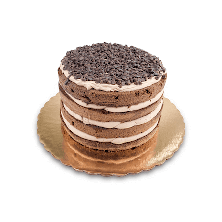 Chocolate Mousse Naked Cake - World of Chantilly