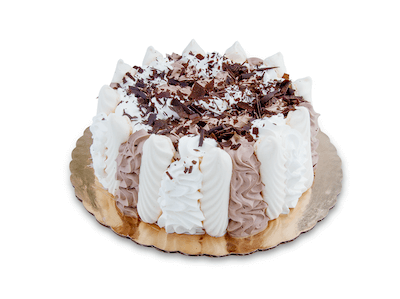 Chocolate Mousse Meringue Cake - World of Chantilly