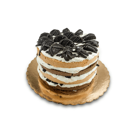 Cookies 'n Cream Naked Cake - World of Chantilly