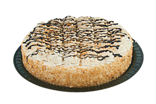 "10"" Kosher for Passover Cappuccino Cake - World of Chantilly"