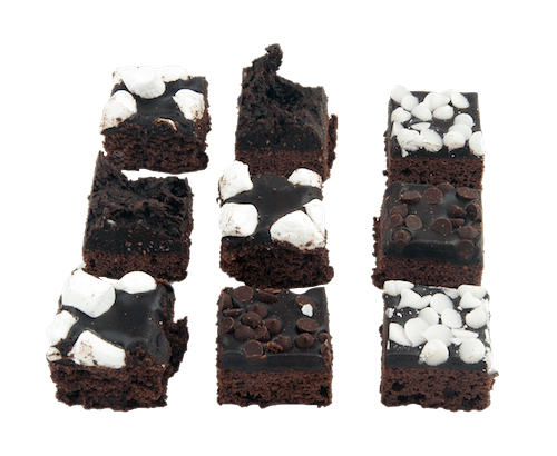 Kosher for Passover Mini Assorted Brownies - World of Chantilly