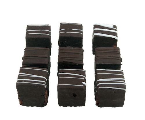 Kosher for Passover Mini Chocolate Petit Fours - World of Chantilly