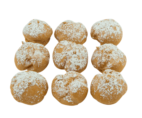 Kosher for Passover Mini Cream Puff - World of Chantilly