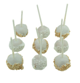 Kosher for Passover White Chocolate Cake Pops - World of Chantilly