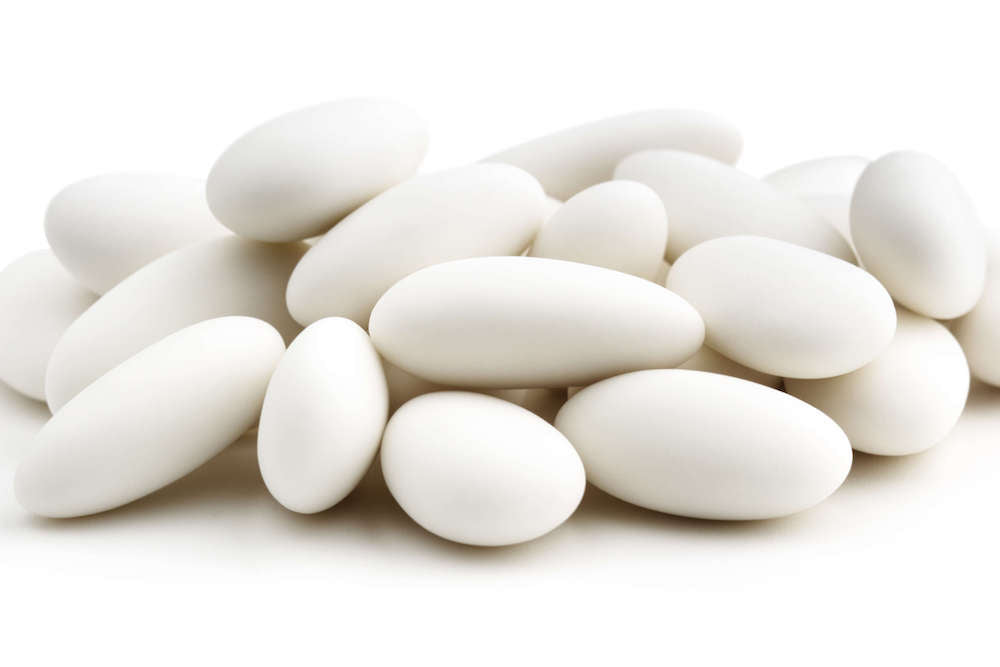 White Jordan Almonds - World of Chantilly