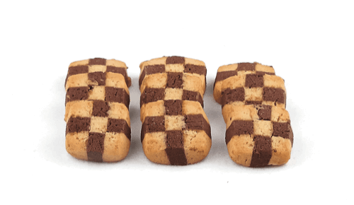 Checkerboard Cookies - World of Chantilly