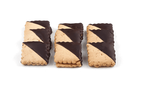 Chocolate Square Cookies - World of Chantilly