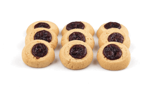 Raspberry Thumb Cookies - World of Chantilly