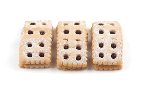 Square Linzer Cookies - World of Chantilly