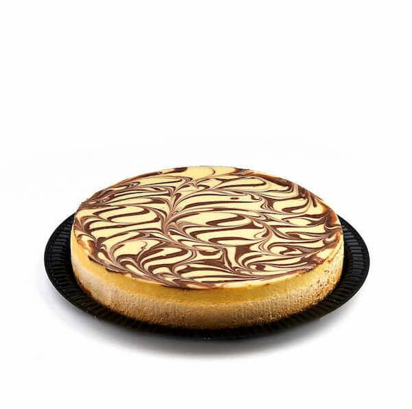Copy of Kosher for Passover Cholov Yisroel Dairy Marble Cheesecake - World of Chantilly