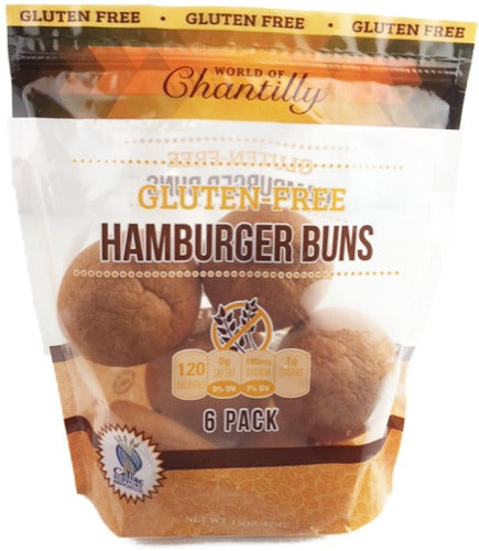 Gluten Free Hamburger Buns - World of Chantilly