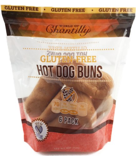 Gluten Free Hot Dog Buns - World of Chantilly