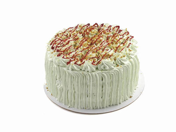 Mile High Pistachio Cake - World of Chantilly