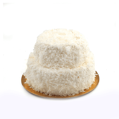 Two Tier Coconut Cake - World of Chantilly