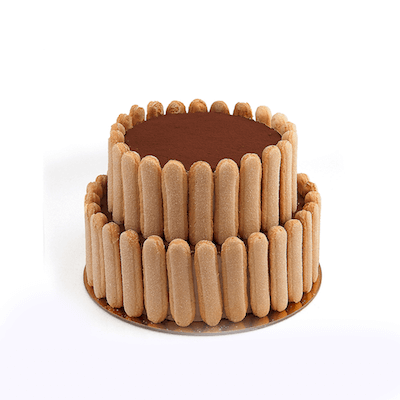 Two Tier Tiramisu Cake - World of Chantilly
