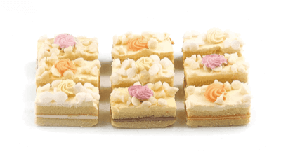 Mini Fruit Mousse Pastries - World of Chantilly