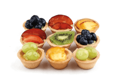 Mini Fruit Tarts - World of Chantilly