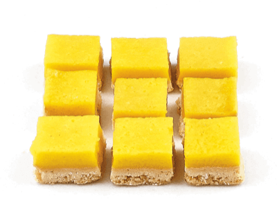 Mini Lemon Curd Squares - World of Chantilly