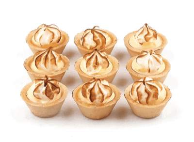 Mini Lemon Meringue Tart - World of Chantilly