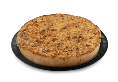 "10"" Apple Crumb Pie - World of Chantilly"