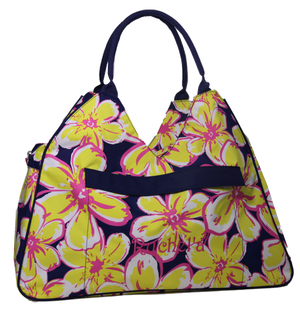 Floral Beach Bag- Ruchel'a