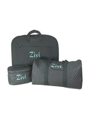 Quilted Luggage Set