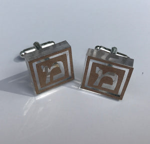 Personalized Lucite Cufflinks