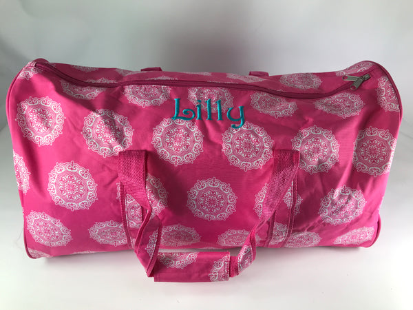 Lilly Pink Duffel Bag